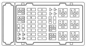 2006 Ford Super Duty Trailer Wiring Diagram Ford E 250 2004 Fuse Box Diagram Auto Genius