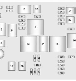chevrolet malibu 2013 fuse box diagram [ 1262 x 650 Pixel ]