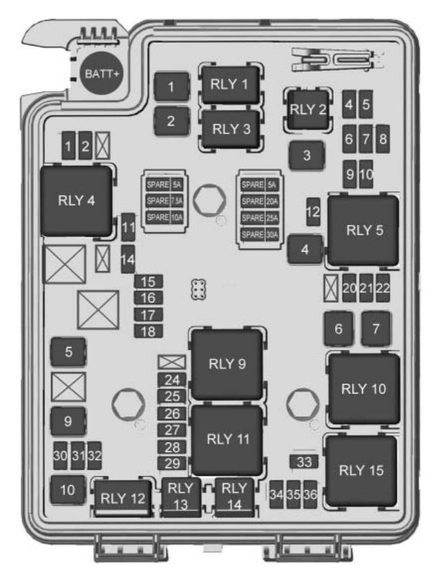 Engine Compartment Fuse Box Diagram Car Fuse Box Diagram Center