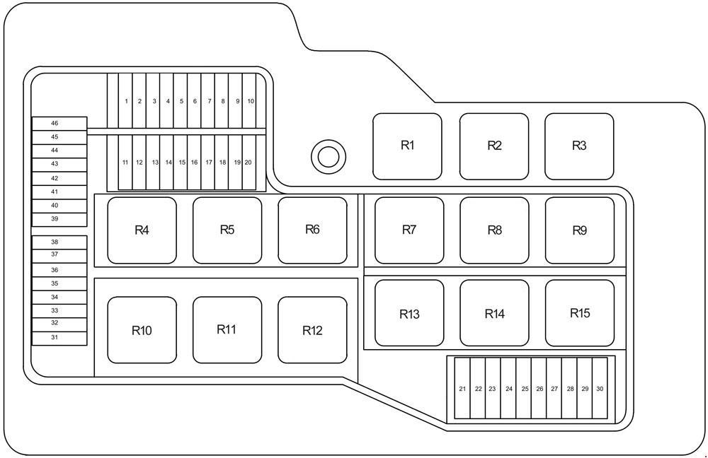 2000 fuse box diagram