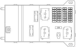 Ford Fusion (2006  2009)  fuse box diagram (American