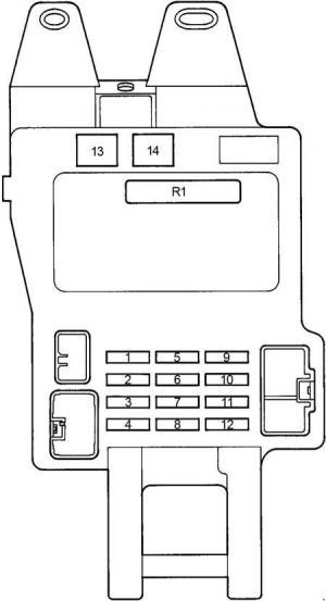 Lexus GS 300 S140 (1991  1997)  fuse box diagram  Auto