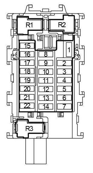 2016 nissan frontier fuse box diagram