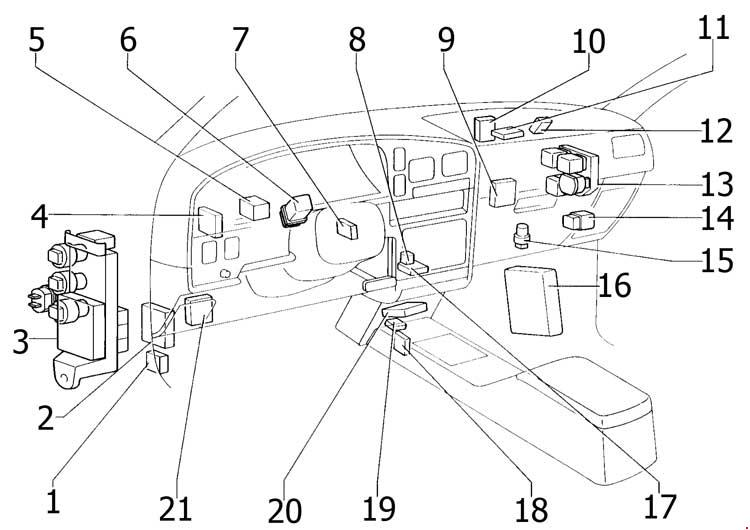 99 Toyota Fuse Box Diagram Box Diagram