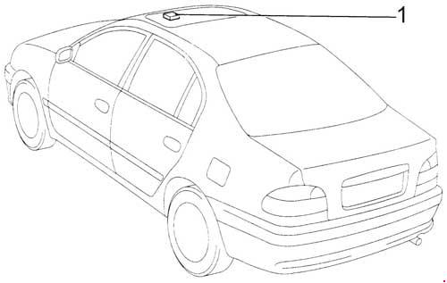 Toyota Estima 1997 Fuse Box Layout
