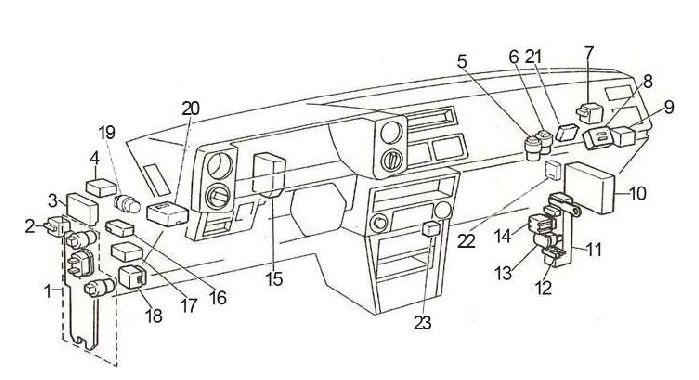 1984 k5 blazer fuse box images