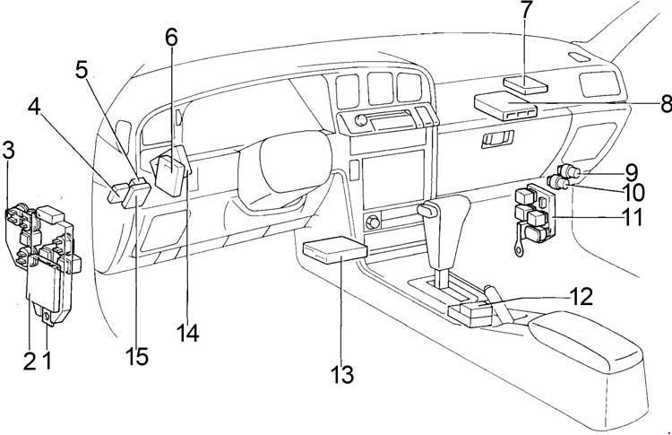 Toyota Cressida Fuse Box Diagram Passenger Compartment on 1998 Softail Wiring Diagram