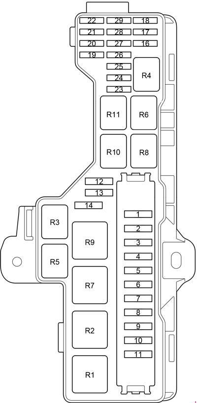 fuse box on toyota hiace  wiring diagram loadplatforma