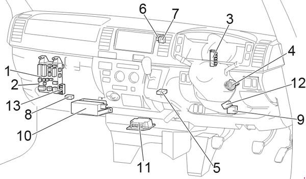 Wiring Diagram Toyota Hiace Radio