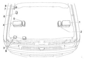 Toyota Hilux (1997  2005)  fuse box diagram  Auto Genius