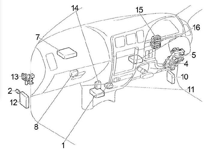 [DIAGRAM] Dash Light Fuse Hilux FULL Version HD Quality