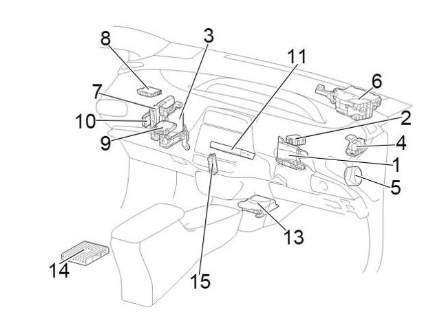 2014 murano fuse box diagram
