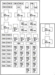 1999 Jeep Cherokee Headlamp Wiring Diagram Ford F 150 1997 2004 Fuse Box Diagram Auto Genius