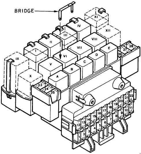 ford fiesta fuse box diagram