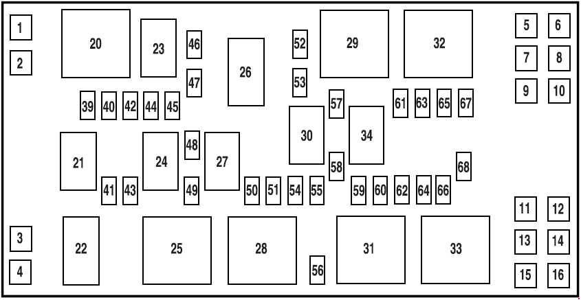 2005 F350 Diesel Fuse Box Locations