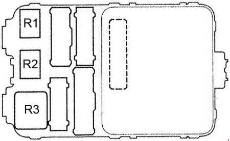 1997 Honda Accord Fuse Box Diagram