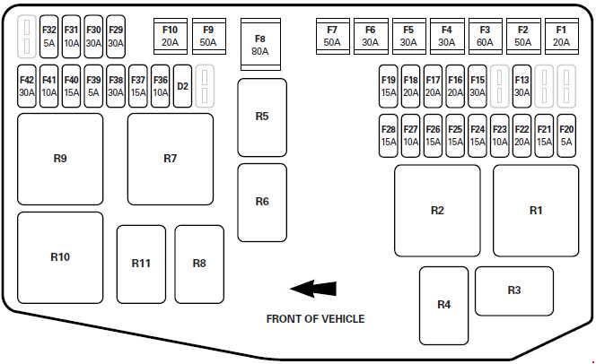 Fuse Covercar Wiring Diagram Page 2
