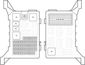 Jaguar XType (2004  2009) fuse box diagram  Auto Genius