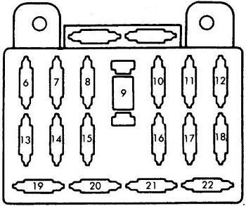 1998 Mazda Millenia Fuse Box Diagram Wiring Diagram 2005
