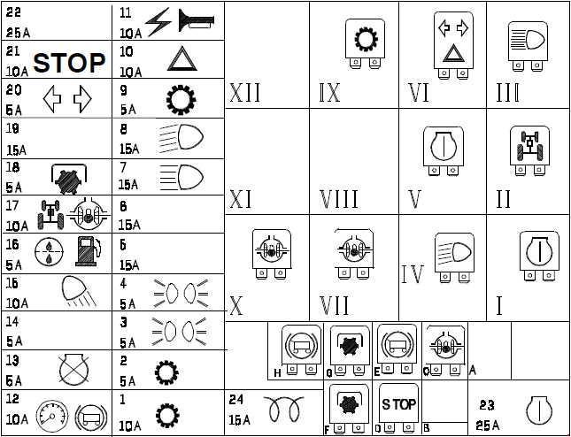 110 Electrical Schematic Wiring Diagram New Holland Tl70 Tl80 Tl90 Tl100 Fuse Box Diagram