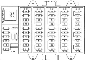 Porsche Boxster (986) (1996  2004)  fuse box diagram