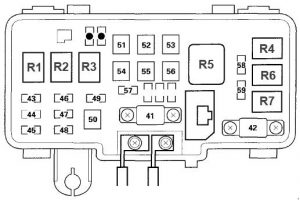 Wiring Diagram PDF: 2002 Mdx Fuse Box