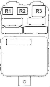 Acura MDX (2001 - 2006) - fuse box diagram - Auto Genius