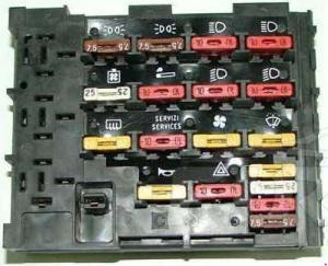 Fiat Uno  fuse box diagram  Auto Genius