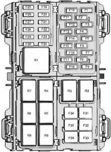 Ford Fiesta (2008  2017)  fuse box diagram  Auto Genius