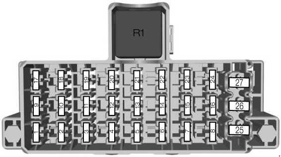 ford fiesta mk6 audio wiring diagram 2002 isuzu rodeo engine (2008 - 2017) fuse box auto genius