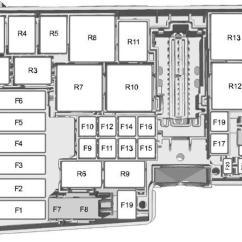 Ford Focus Zetec Engine Diagram Leviton 220v Receptacle Wiring (2004 - 2010) Fuse Box Auto Genius