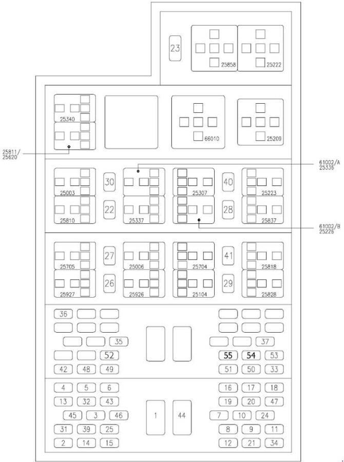iveco daily 2000  2006  fuse box diagram  auto genius