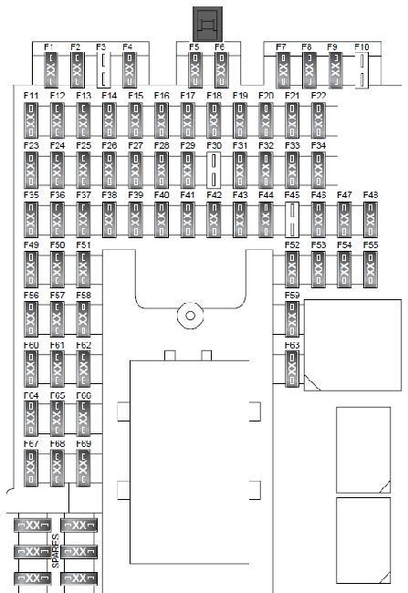 [DIAGRAM] Range Rover Fuse Box Diagram FULL Version HD