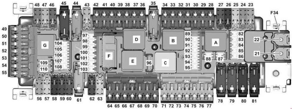 foot well fuse box wiring diagram  image  2015 mini cooper
