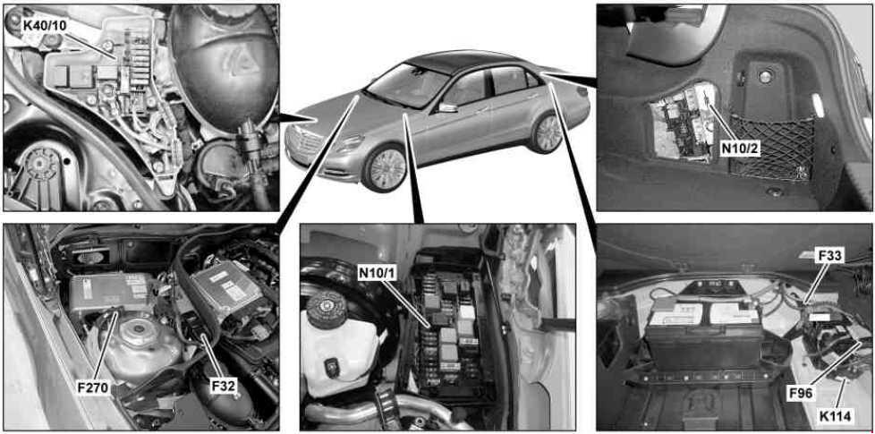 Mercedes Wiper Motor Wiring Diagram
