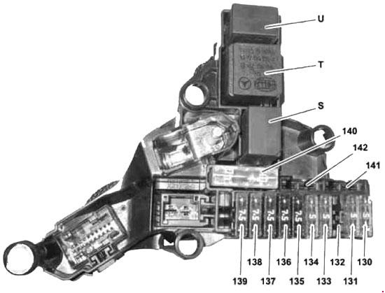 Fuse Panel Layout Diagram Parts Transmission Control Module