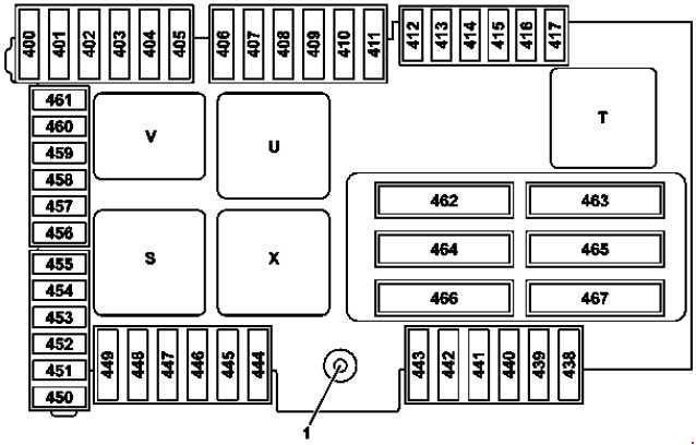 mercede-benz glc-class x253 - fuse box diagram - auto genius