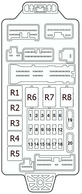 [DIAGRAM] 02 Mitsubishi Lancer Fuse Box Diagram FULL