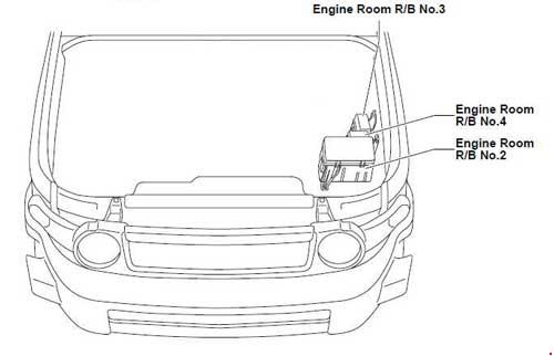 Circuit Electric For Guide: 2007 toyota fj cruiser wiring