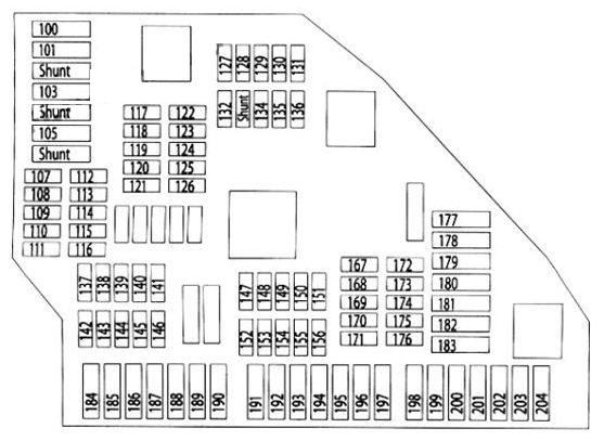 2011 x3 fuse diagram