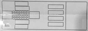 BMW X5 (F15; 2014  2019)  fuse box diagram  Auto Genius