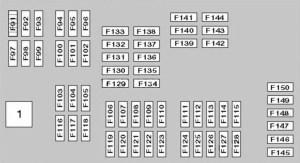 BMW X5 (E70; 2007  2013)  fuse box diagram  Auto Genius