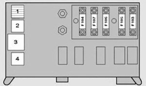 BMW X5 (E53; 2000  2006)  fuse box diagram  Auto Genius