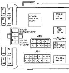 hyundai xg 350 fuse box diagram [ 1283 x 667 Pixel ]