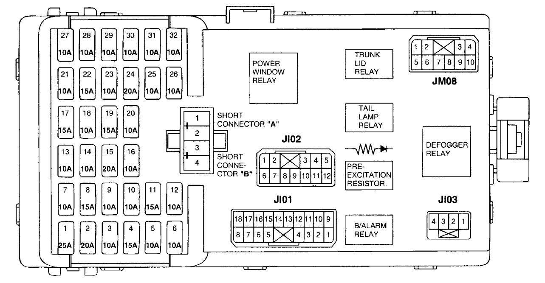 hight resolution of hyundai xg 350 fuse box diagram
