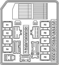 Nissan Sentra (2007 - 2012) - fuse box diagram - Auto Genius