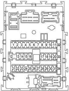 2001 Nissan Sentra Fuse Box Diagram. Nissan. Wiring
