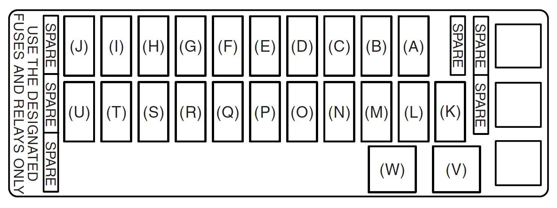 hight resolution of suzuki grand vitara 2008 fuse box diagram