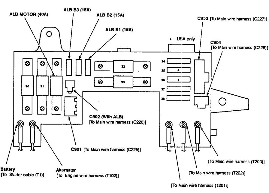 1991 integra fuse box