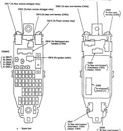acura integra 1990 1991 fuse box diagram auto genius 1990 acura integra fuse box location 1990 acura fuse box [ 865 x 1185 Pixel ]